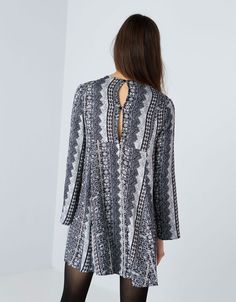 Bershka bell sleeve dress - Dresses & Jumpsuits - Bershka United Arab Emirates