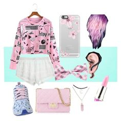 """Pastel pink"" by maddyt0321 on Polyvore featuring Calypso St. Barth, adidas, Design Inverso, Casetify and Lime Crime"