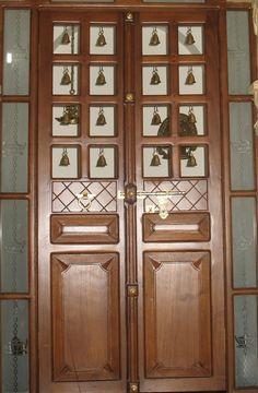 Trendy Pooja Door Design Ideas Home Wooden Main Door Design, Pooja Room Door Design, House Main Door Design, Modern Wooden Doors, Modern Door, Decor Wedding, Wedding Colors, Wedding Flowers, Wooden Screen Door