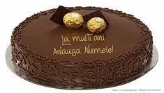 Felicitari personalizate de zi de nastere - Tort - La multi ani Adauga numele!