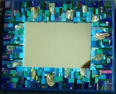 mosaic mirrors images   View From Above - Mosaic Mirror by tinytilemosaics (Sally)
