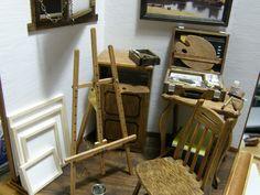 画家のアトリエの画像 - ヒナぞー ミニチュア&ドールハウス - Yahoo!ブログ Hinazo Miniature