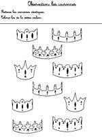 Observation les couronnes