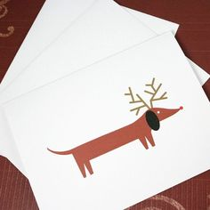"Features: • 6 folded cards (4.25 x 5.5"") + 6 white envelopes (A2) • ""Season's Greetings"" inside of card with script type • printed on 80 lb bright white cover stock • packaged in a cello sleeve w/sign"