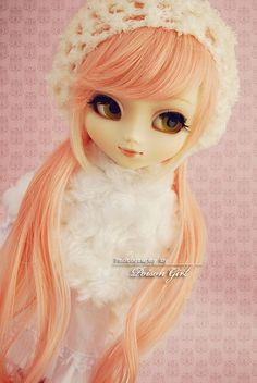 So pretty in her soft pink... | Mikuru | pullip My Melody | by PoisonGirl via Flickr