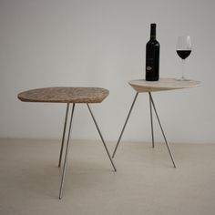 Basico Side Table by Bloooms made in The Netherlands on CrowdyHouse