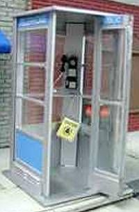 The old Telephone Booth with the suspended phone book!