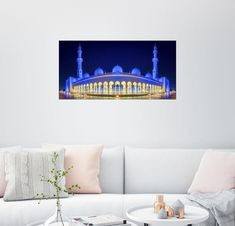 Posterlounge mural »Sheikh Zayed Grand Mosque in Deep Blue«  - OTTO Fashion & Lifestyle - #Blue #deep #fashion #Grand #lifestyle #Mosque #mural #OTTO #Posterlounge #Sheikh #Zayed - Posterlounge mural »Sheikh Zayed Grand Mosque in Deep Blue«  - OTTO Fashion & Lifestyle Blue Mosque, Lounge, Grand Mosque, Deep Blue, Wall Murals, Poster, Prints, Home Decor, Join
