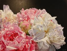 Amber Emm Artworks Available At Black Door Gallery. Photo realistic floral oil paintings with strong contrasting light, depicting the beauty that can be found in our own backyard.