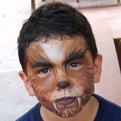google kids wolf make up - Google Search