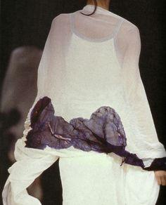 yohji yamamoto spring summer 1995