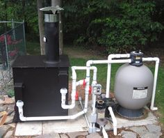 Picture Page for Warm Water Solutions Wood Burning Swimming Pool Heaters