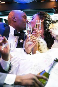 Monique & Chris in Washington, DC Sophisticated and Elegant Wedding in Chicago, Illinois