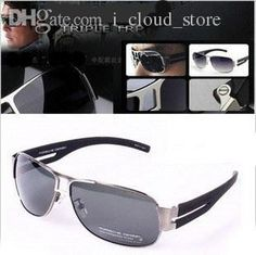 19da13c0285 Optical Metal Square Shape Professional Polarization Sunglasses Men Fashion  Glasses Brand Designer Retro Vintage Sunglasses UV400