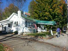George's Diner | Meredith, NH one of my favorite break stops!