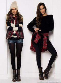 Moda juvenil 2014. Ropa de moda invierno 2014. Moda otoño invierno 2014 de Doll Store.