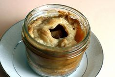 Pie in a Jar from the Brownies for Dinner website.  Wouldn't these pies be tasty for Father's Day? Now I need to find some of these cute wide-mouth half-pints.