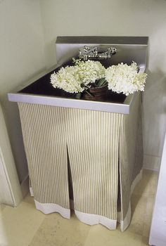 laundry room sink skirt » Design and Ideas