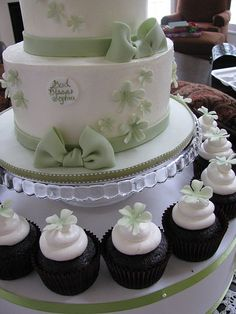 1st Communion Cake & Cupcakes by The Couture Cakery, via Flickr