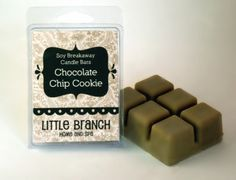 Chocolate Chip Cookie Scented Soy Breakaway Candle by littlebranch for $3.00