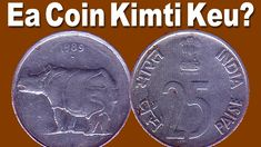 Exclusive : Rhino Mark 25 Paise Old Coins : Indian & Foreign Mint Mark Old Coins For Sale, Sell Old Coins, Old Coins Value, Rare Coins Worth Money, Valuable Coins, Coin Buyers, Coin Worth, Coin Values, Coin Collecting