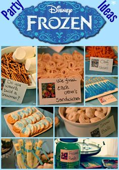 Got a Frozen fan on your hands? Check out these super easy Frozen party ideas #frozen #birthdayparty