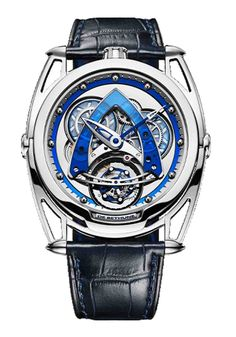 Faithful to the DNA of the 'Maison' nestled in Sainte Croix in the Swiss Jura mountains, the limited edition (only 10 pieces worldwide) DB28 Steel Wheels Sapphire Tourbillon ably perpetuates the heritage of its predecessors: perfect balance, contemporary and bold aesthetics at the service of exceptional mechanics.  #rarewatch #limitededition #limitededitionwatch #debethune #wristgame #wristwatch #menswatch Cool Watches, Watches For Men, Tourbillon Watch, Steel Barrel, Limited Edition Watches, Mechanical Hand, Futuristic Design, Steel Wheels, Sapphire
