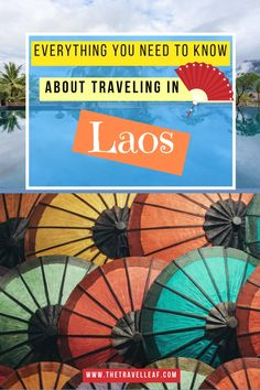 There's a lot you need to know when planning a trip to Laos! Use this Laos ultimate guide with our best Laos travel tips to make your trip easy & unique! Laos Travel, China Travel, Vietnam Travel, Japan Travel, Luang Prabang, Travel Guides, Travel Tips, Travel Destinations, Hong Kong