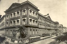 Piazza Borsa 1950's