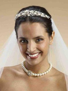 Champagne Bridal Veil