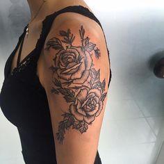 Tatuagens de Rosas - Conheça Seu Significado [ +77 FOTOS ]