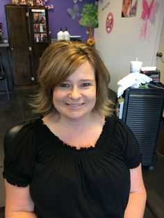 New cut and color for a fantastic woman!