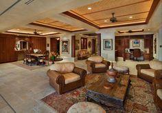 Balinese living room