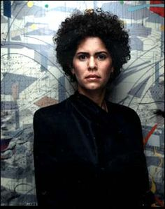 Julie Mehretu is a NYC artist, best known for her densely-layered abstract paintings and prints