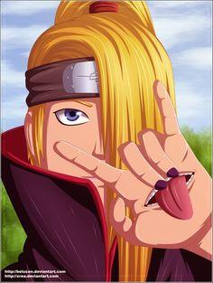 Deidara the BEST naruto character