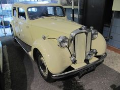 1948 Rover P3 75 at Gaydon Motor Museum