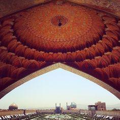Naghsh-e-Jahan Square of Isfahan,