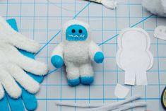 DIY Stuffed Yeti