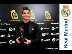 Ver Cristiano Ronaldo Sergio Ramos Illarra and Casillas receive awards from the LFP