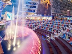 Catch dinner and a show on Allure of the Seas.