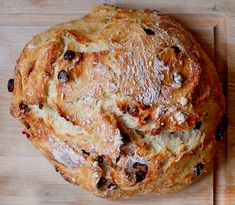 Rustic Cranberry Orange Bread by pbpickles #Bread #Cranberry #Orange