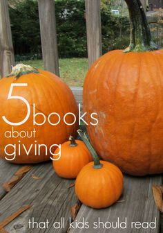 5 Books About #Giving That Every Child Should Read: Check out these top books that inspire thought, change, and growth. | me, @Scholastic