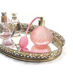 vintage perfume tray