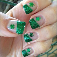 St. Patty's nails