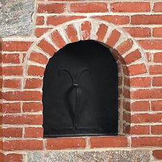 Custom Hand Made Beehive Oven Door New England Style, New England Homes, Brick Bbq, Hearth And Home, Post And Beam, Beehive, Mantle, Old Things, Doors