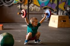 Alright kids! lets do this!!!! Crossfit Kids