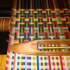 Handwoven upholstery developments in margo selby's studio