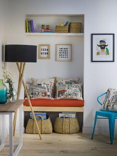 Cojines, lámparas, canastos y otros implementos para tu hogar en Casaideas.