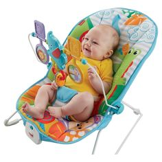 Fisher-Price Animal Party Bouncer Replacement Baby Seat New Cover Euc Infant  #FisherPrice
