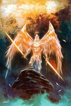 ArtStation - Holy War, Andrea Guardino